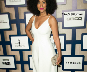 actress, Afro, and black woman image