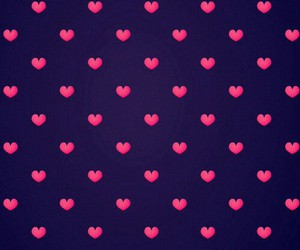 wallpaper, heart, and hearts image