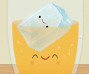 drawing, lemonade, and cute image