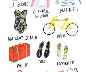 bag, france, and fashion image