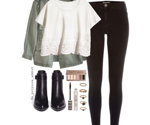 black jeans, crotchet, and cute image
