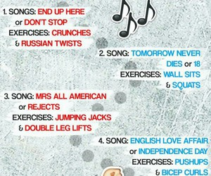 workout and 5 seconds of summer image
