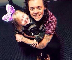 lux, Harry Styles, and one direction image