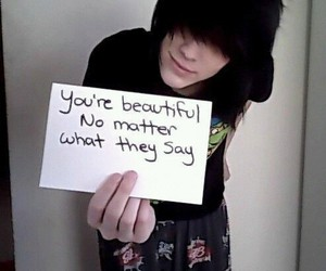 emo and cute image