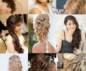 updo hairstyles, hair for prom, and up do hairstyles image