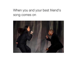 best friends, funny, and song image