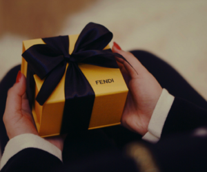 fendi, gift, and present image
