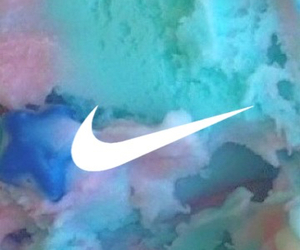 blue, ロック画面, and nike image