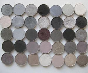 grey, eyeshadow, and makeup image