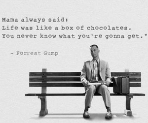 forrest gump, quote, and movie image