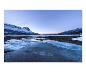 arctic, fjord, and ice image
