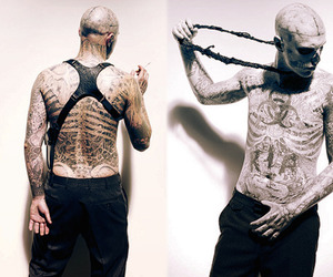 boy, zombie boy, and fashion image