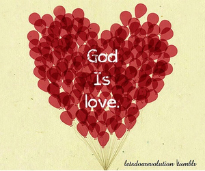 god, love, and faith image