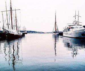 beautiful, boat, and nature image
