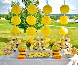 birthday party, diy, and decoration image