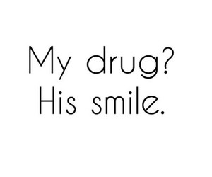 love, drugs, and smile image