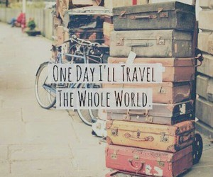 travel, world, and quotes image