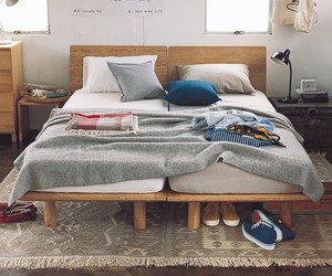 bed, decoration, and style image