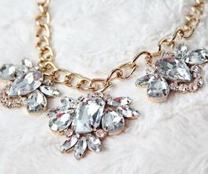 necklace, fashion, and diamond image