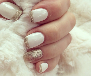 gold, nails, and norway image