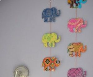 elephant, diy, and decoration image