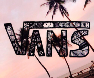 vans, beach, and people image