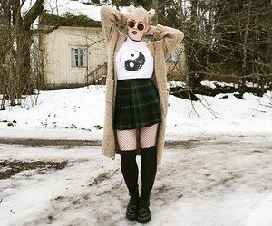 alternative, outfit, and cute image