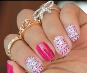 girl, look, and nails image