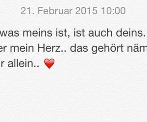 deutsch, heart, and herz image