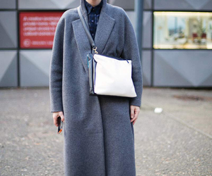 coat, sunglasses, and fashion image