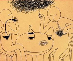 smoke, alcohol, and art image