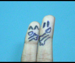 fingers, finger art, and cute image