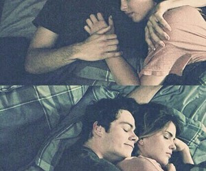 couple, cuddle, and cuddles image
