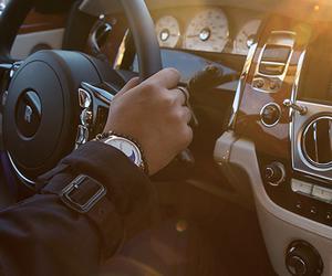 luxury, car, and men image