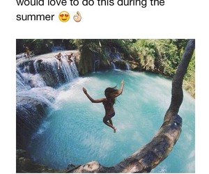 funny, summer, and true image