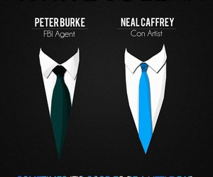 suits, white collar, and neal caffrey image