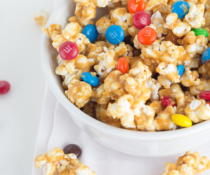 food, popcorn, and snacks image