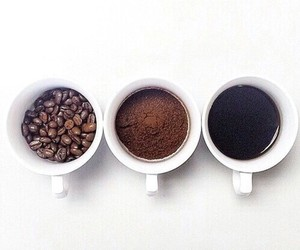 coffe, drink, and Hot image