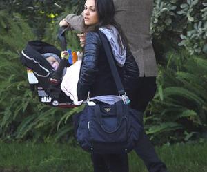 ashton kutcher, family, and Mila Kunis image