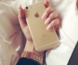 fashion, stiletto nails, and iphone 6 image