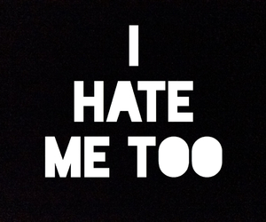 hate, me, and too image
