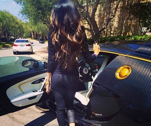 car, luxury, and hair image