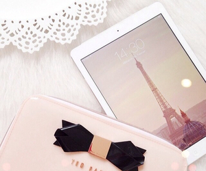 ipad, girly, and pink image