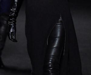 black, fashion, and dark image