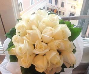 flowers, white, and wonderful image
