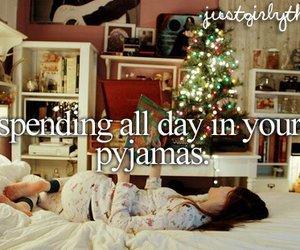 pyjamas and christmas image