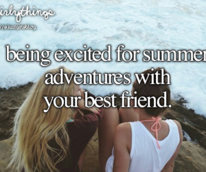 summer, best friends, and adventures image