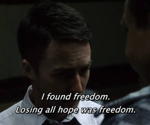 freedom, fight club, and hope image