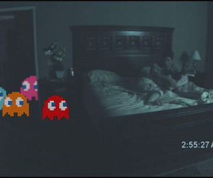 ghosts, paranormal activity, and pacman image
