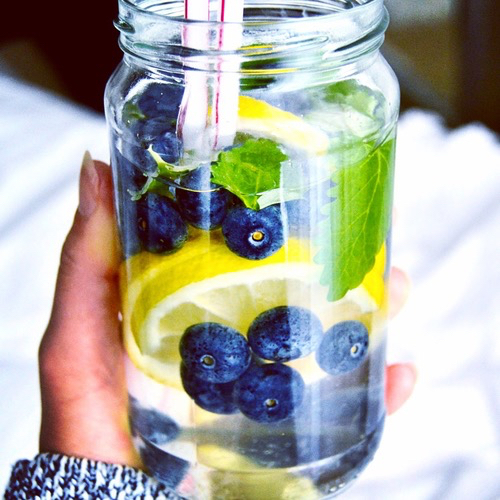 water, fruit, and health image